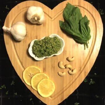 Cashew-Basil Pesto