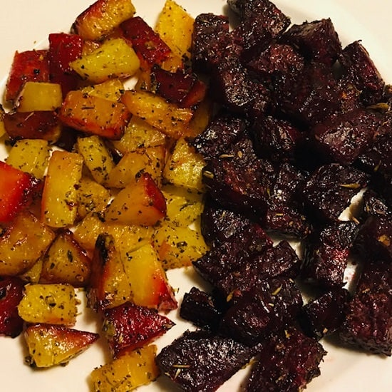Herb-Garlic-Roasted Beets
