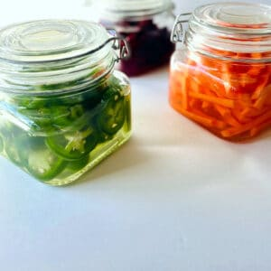 Quick-Pickled-Vegetables-beets-carrots-jalapenos-in-jars