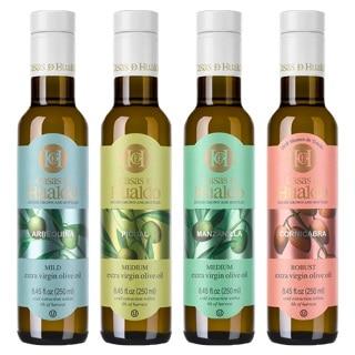 4 bottles of olive oil