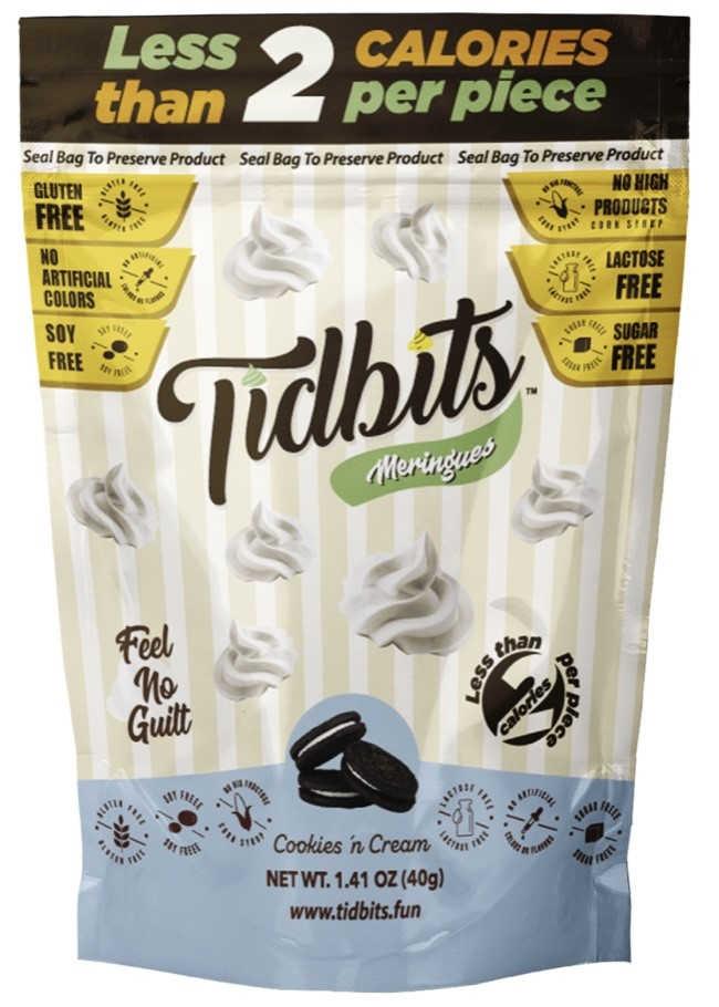 bag of tidbits meringues