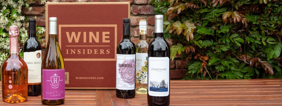 a wine insiders box surrounded by different wine selections