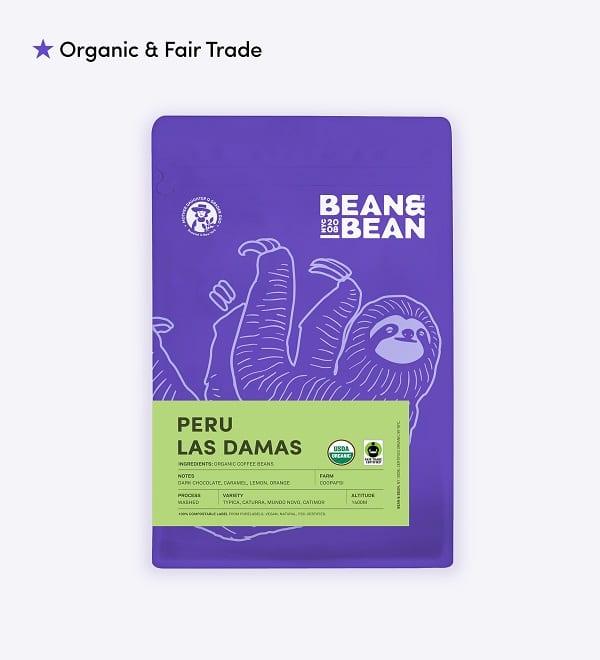 bean and bean coffee bag