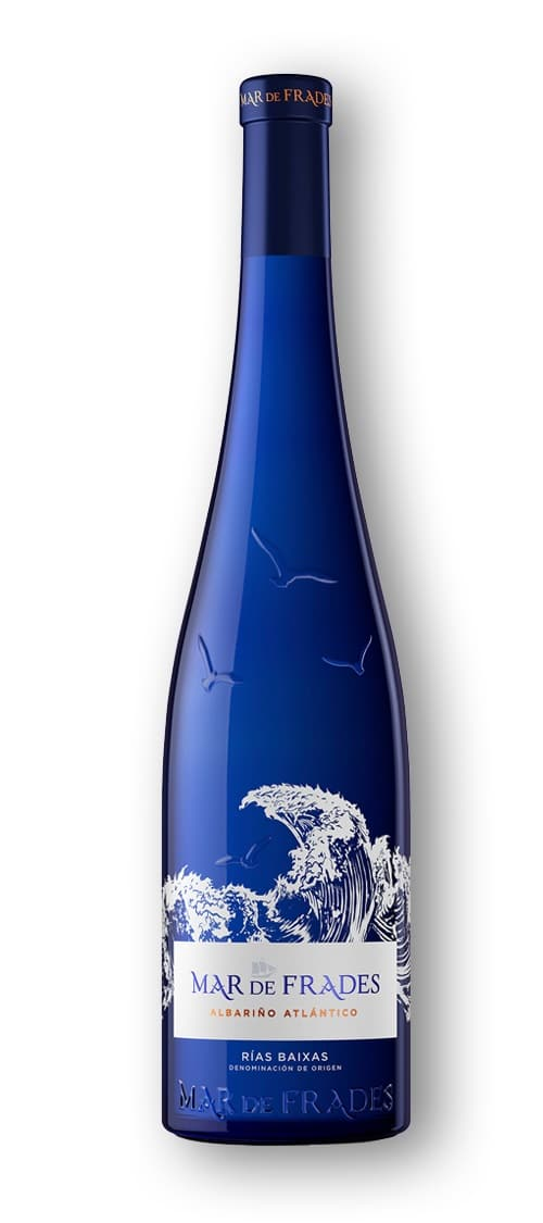 bottle of mar fe frades wine