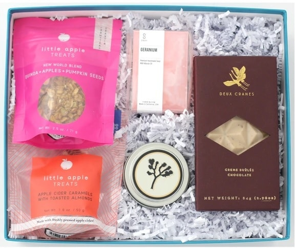 california crafted gift box
