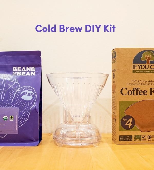 bean and bean coffee brew kit