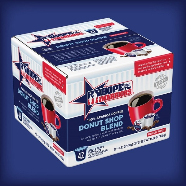 hope for warriors box of coffee