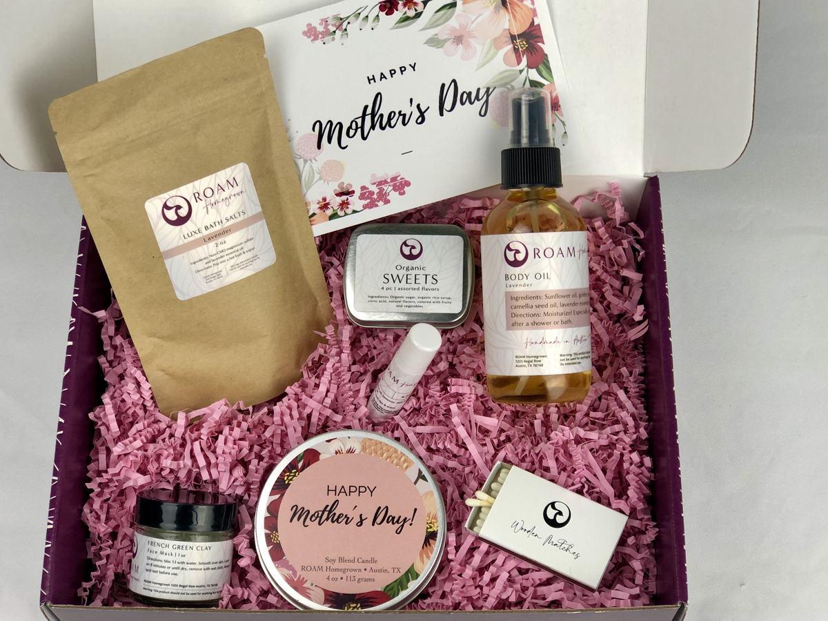 roam homegrown mother's gift box