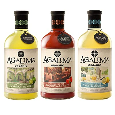 agalima variety pack of cocktail drink mixers