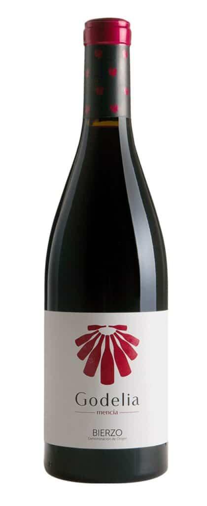 a bottle of godelia mencia wine