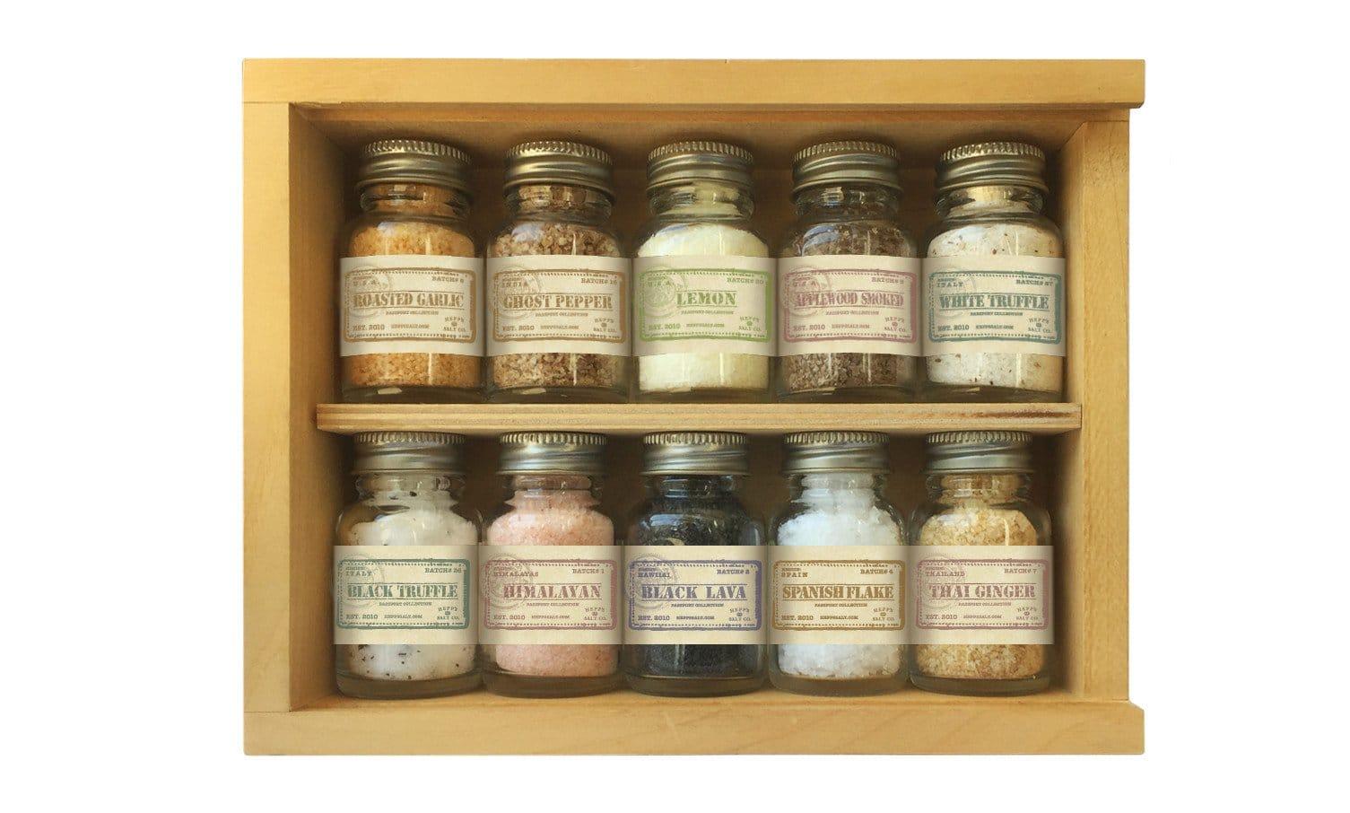 hepps passport collection of 10 different flavor salts