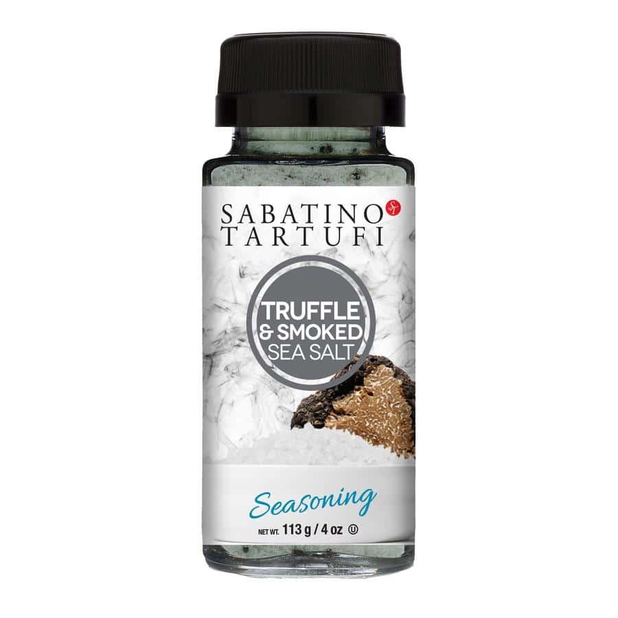 bottle of sabatino truffle sea salt