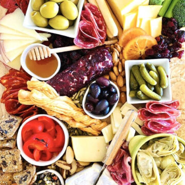 trader joe's charcuterie nuts fruits cheese meat and dips and spreads